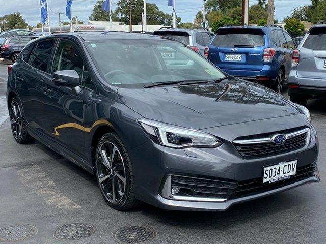 Demo Subaru Impreza G5 MY20 2.0i-S CVT AWD, 2019 Subaru Impreza G5 MY20 2.0i-S CVT AWD Magnetite Grey 7 Speed Constant Variable Hatchback