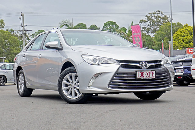 Used Toyota Camry ASV50R Altise, 2017 Toyota Camry ASV50R Altise Classic Silver 6 Speed Sports Automatic Sedan