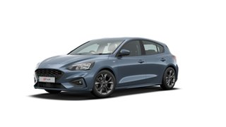 2020 Ford Focus SA 2021MY ST-Line Blue Metallic 8 Speed Automatic Hatchback.