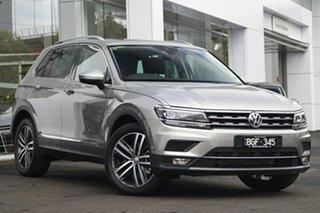 2019 Volkswagen Tiguan 5N MY19.5 162TSI DSG 4MOTION Highline Silver 7 Speed.