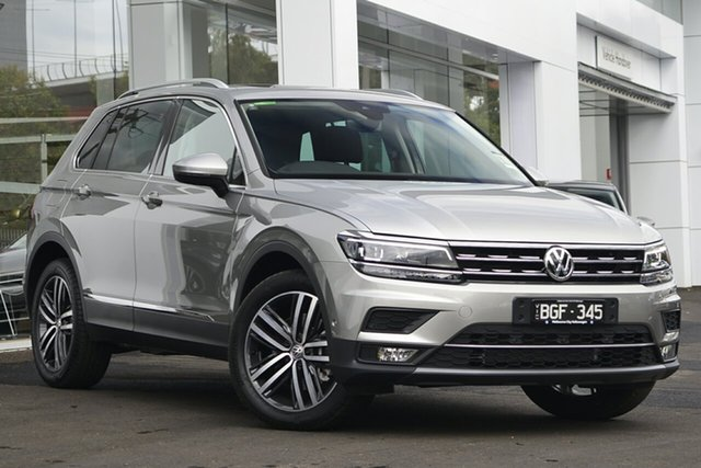 Demo Volkswagen Tiguan 5N MY19.5 162TSI DSG 4MOTION Highline, 2019 Volkswagen Tiguan 5N MY19.5 162TSI DSG 4MOTION Highline Silver 7 Speed
