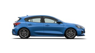 2020 Ford Focus ST-Line Desert Island Blue 8 Speed Automatic Hatchback