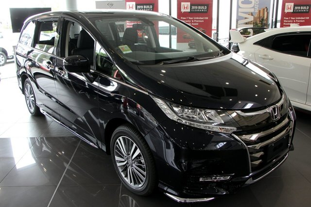Demo Honda Odyssey RC MY19 VTi-L, 2019 Honda Odyssey RC MY19 VTi-L Premium Twinkle Black 7 Speed Constant Variable Wagon