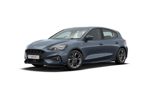 New Ford Focus ST-Line Elizabeth, 2020 Ford Focus ST-Line Blue Panther 8 Speed Automatic Hatchback