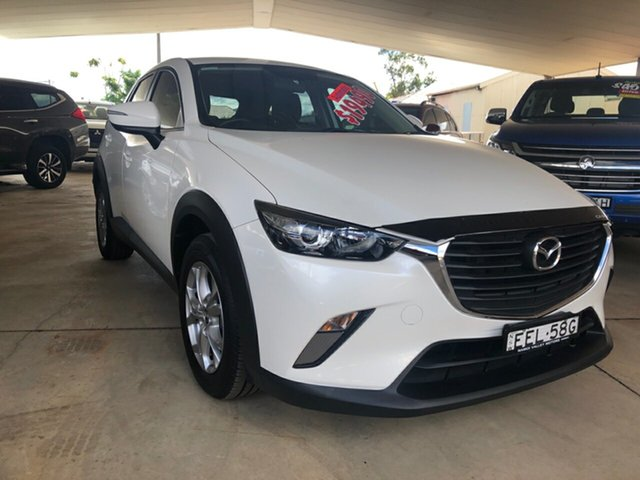 Used Mazda CX-3 DK Maxx (FWD), 2016 Mazda CX-3 DK Maxx (FWD) White 6 Speed Automatic Wagon