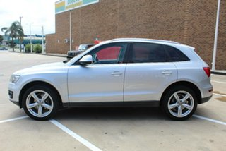 2011 Audi Q5 8R MY11 2.0 TDI Quattro Silver 7 Speed Auto Dual Clutch Wagon.