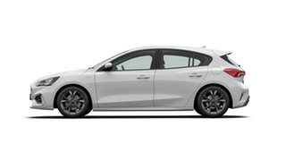 2020 Ford Focus ST-Line Frozen White 8 Speed Automatic Hatchback.