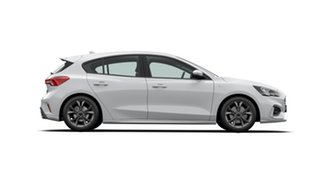 2020 Ford Focus SA 2021MY ST-Line Frozen White 8 Speed Automatic Hatchback