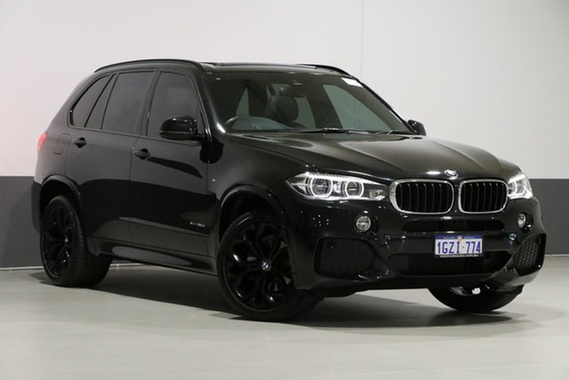 Used BMW X5 F15 MY14 xDrive 30D, 2014 BMW X5 F15 MY14 xDrive 30D Black 8 Speed Automatic Wagon