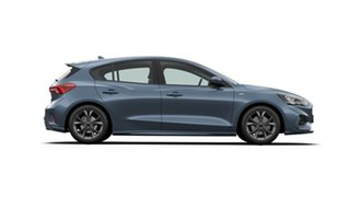 2020 Ford Focus SA 2021MY ST-Line Blue Metallic 8 Speed Automatic Hatchback