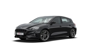 2020 Ford Focus ST-Line Agate Black 8 Speed Automatic Hatchback.
