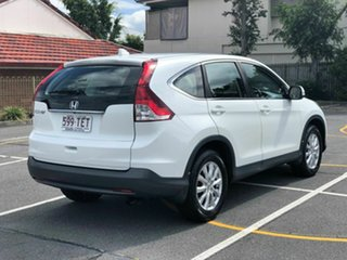 2012 Honda CR-V RM VTi White 5 Speed Automatic Wagon.