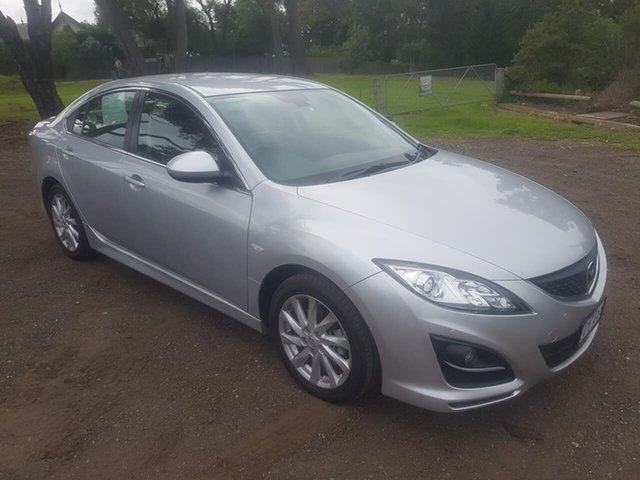 Used Mazda 6 GJ Touring, 2012 Mazda 6 GJ Touring Silver Sports Automatic Sedan