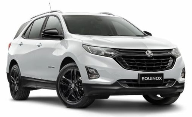 New Holden Equinox EQ MY20 Black Edition FWD, 2020 Holden Equinox EQ MY20 Black Edition FWD White 6 Speed Sports Automatic Wagon