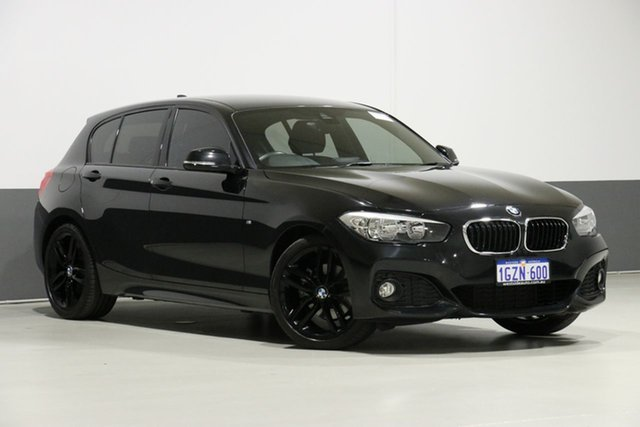 Used BMW 120i F20 LCI MY17 M Sport, 2017 BMW 120i F20 LCI MY17 M Sport Black 8 Speed Automatic Hatchback