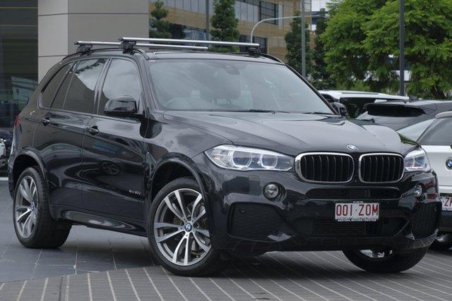 Used BMW X5 F15 xDrive30d, 2015 BMW X5 F15 xDrive30d Black 8 Speed Sports Automatic Wagon