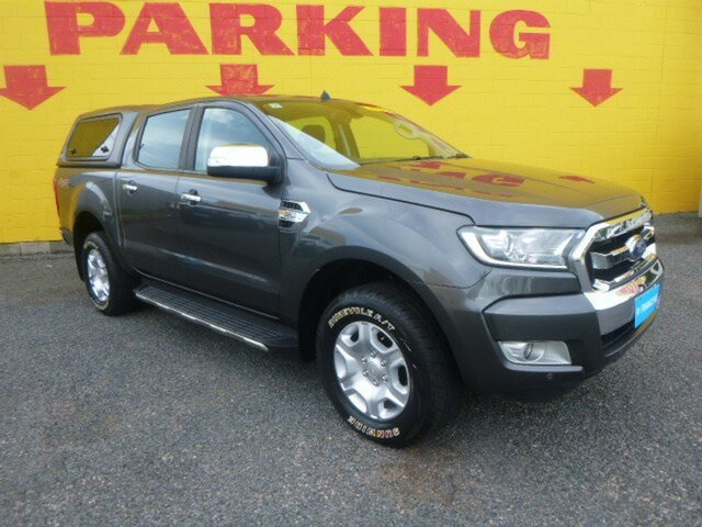 Used Ford Ranger PX MkII 2018.00MY XLT Double Cab, 2017 Ford Ranger PX MkII 2018.00MY XLT Double Cab Black 6 Speed Sports Automatic Utility