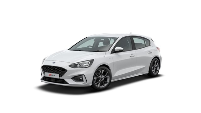 New Ford Focus ST-Line Midland, 2020 Ford Focus ST-Line Frozen White 8 Speed Automatic Hatchback