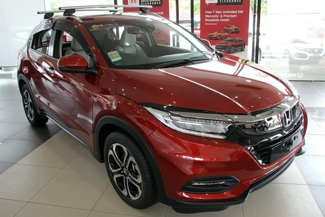 Demo Honda HR-V MY20 VTi-LX, 2019 Honda HR-V MY20 VTi-LX Passion Red 1 Speed Constant Variable Hatchback