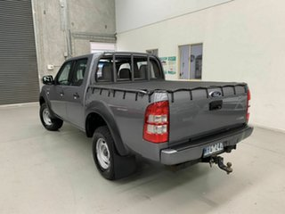 2008 Ford Ranger PJ XL Crew Cab 4x2 Hi-Rider Grey 5 Speed Manual Utility
