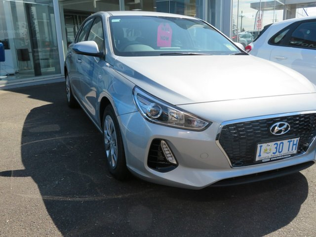 Demo Hyundai i30 PD.3 MY20 Go, 2019 Hyundai i30 PD.3 MY20 Go Typhoon Silver 6 Speed Sports Automatic Hatchback