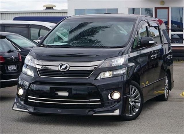 Used Toyota Vellfire  , 2012 Toyota Vellfire ANH20W Black 1 Speed Constant Variable Wagon