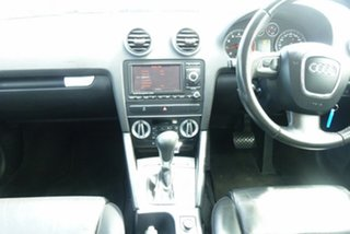 2010 Audi A3 8P MY10 TFSI Sportback S Tronic Limited Edition White 7 Speed