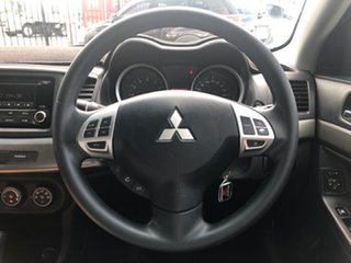 2013 Mitsubishi Lancer CJ MY14 ES Silver 6 Speed CVT Auto Sequential Sedan