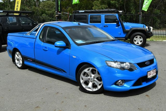 Used Ford Falcon FG XR8, 2009 Ford Falcon FG XR8 Blue 6 Speed Manual Utility
