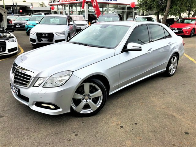 Used Mercedes-Benz E-Class W212 E350 7G-Tronic Avantgarde Seaford, 2010 Mercedes-Benz E-Class W212 E350 7G-Tronic Avantgarde Silver 7 Speed Sports Automatic Sedan