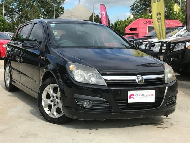 Used Holden Astra AH MY06 CDX, 2006 Holden Astra AH MY06 CDX Black 5 Speed Manual Coupe