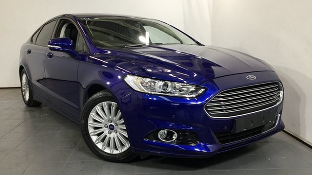 Used Ford Mondeo MD Trend SelectShift, 2015 Ford Mondeo MD Trend SelectShift Blue 6 Speed Sports Automatic Hatchback