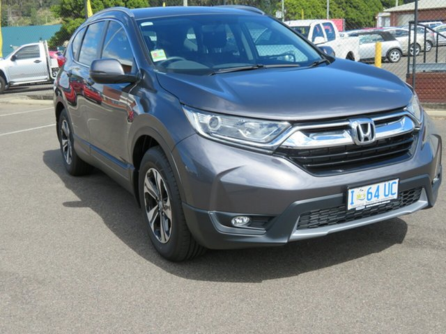 Demo Honda CR-V RW MY20 VTi FWD, 2019 Honda CR-V RW MY20 VTi FWD Modern Steel 1 Speed Constant Variable Wagon