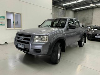 2008 Ford Ranger PJ XL Crew Cab 4x2 Hi-Rider Grey 5 Speed Manual Utility.