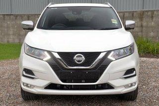 2019 Nissan Qashqai J11 Series 3 MY20 N-SPORT X-tronic Ivory Pearl 1 Speed Constant Variable Wagon