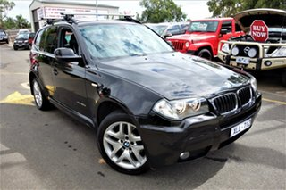 2009 BMW X3 E83 MY09 xDrive20d Steptronic Lifestyle Black 6 Speed Automatic Wagon.