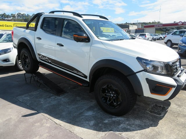 Demo Nissan Navara D23 S4 MY19 N-TREK Warrior, 2019 Nissan Navara D23 S4 MY19 N-TREK Warrior White Diamond 7 Speed Sports Automatic Utility