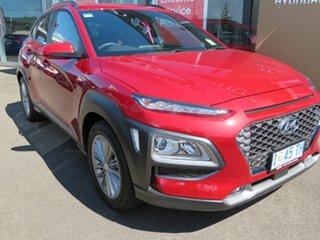2019 Hyundai Kona OS.3 MY20 Elite 2WD Pulse Red 6 Speed Sports Automatic Wagon.