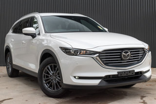 2020 Mazda CX-8 KG2WLA Touring SKYACTIV-Drive FWD Snowflake White Pearl 6 Speed Sports Automatic.