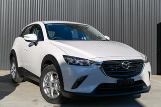2019 Mazda CX-3 DK2W7A Maxx SKYACTIV-Drive FWD Sport Snowflake White Pearl 6 Speed Sports Automatic.