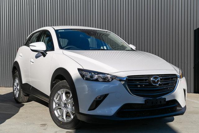 New Mazda CX-3 DK2W7A Maxx SKYACTIV-Drive FWD Sport, 2019 Mazda CX-3 DK2W7A Maxx SKYACTIV-Drive FWD Sport Snowflake White Pearl 6 Speed Sports Automatic