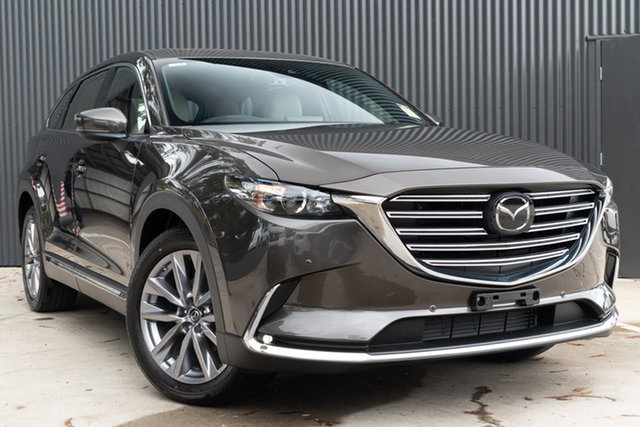 New Mazda CX-9 TC GT SKYACTIV-Drive i-ACTIV AWD, 2019 Mazda CX-9 TC GT SKYACTIV-Drive i-ACTIV AWD Titanium Flash 6 Speed Sports Automatic Wagon
