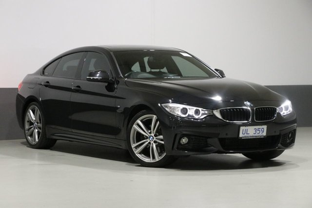 Used BMW 428i F36 MY15 Gran Coupe Sport Line, 2014 BMW 428i F36 MY15 Gran Coupe Sport Line Black 8 Speed Automatic Coupe