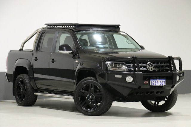 Used Volkswagen Amarok 2H MY17 V6 TDI 550 Highline, 2017 Volkswagen Amarok 2H MY17 V6 TDI 550 Highline Black 8 Speed Automatic Dual Cab Utility