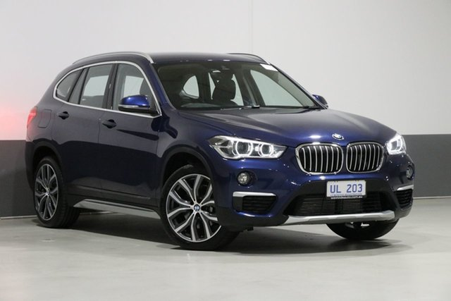 Used BMW X1 F48 MY19 xDrive 25I, 2018 BMW X1 F48 MY19 xDrive 25I Blue 8 Speed Automatic Wagon