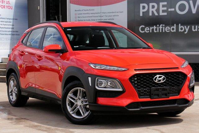 Used Hyundai Kona OS MY18 Active 2WD, 2018 Hyundai Kona OS MY18 Active 2WD Tangerine Comet 6 Speed Sports Automatic Wagon