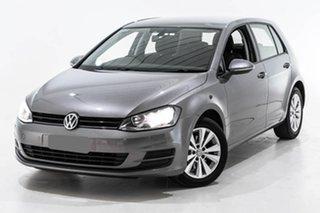 2013 Volkswagen Golf VII 90TSI Comfortline Grey 6 Speed Manual Hatchback.
