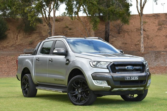 Used Ford Ranger PX MkII Wildtrak Double Cab, 2016 Ford Ranger PX MkII Wildtrak Double Cab Aluminium 6 Speed Sports Automatic Utility