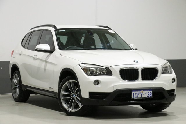 Used BMW X1 E84 MY13 sDrive 20I, 2013 BMW X1 E84 MY13 sDrive 20I White 8 Speed Automatic Wagon