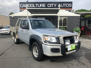2007 Mazda BT-50 B3000 Freestyle DX+ (4x4) Silver 5 Speed Manual Cab Chassis.